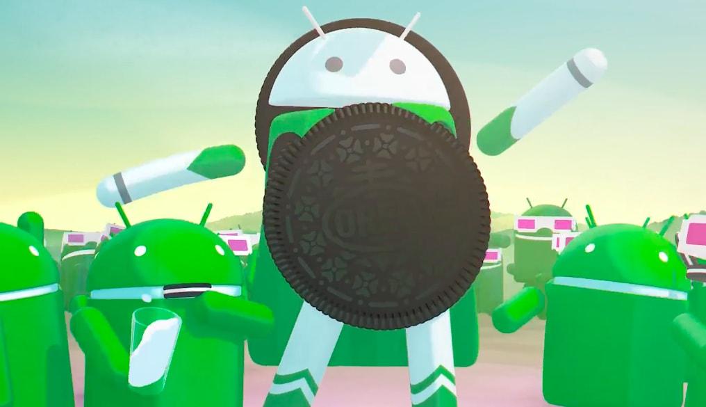 android oreo repartition decembre