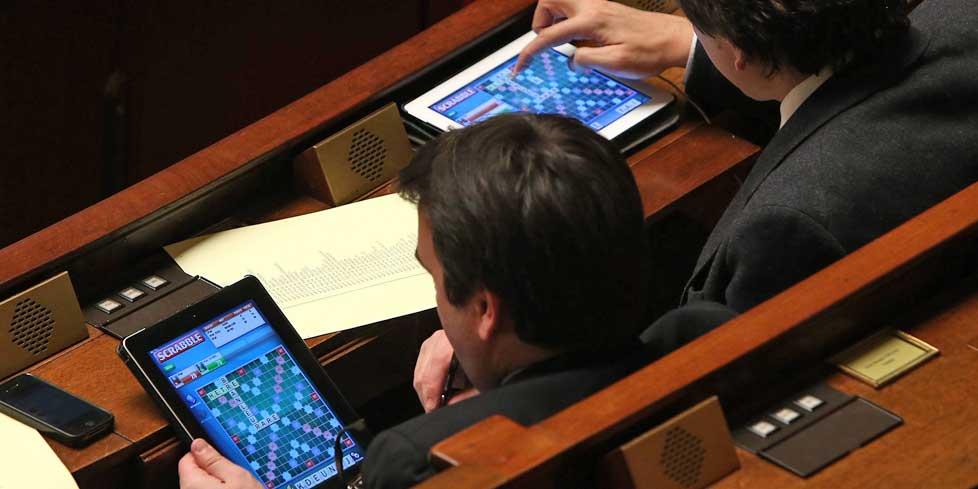 députés tablettes
