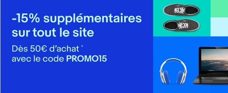 ebay promo 15 %
