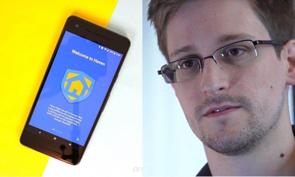 Edward Snowden transforme votre vieux smartphone en caméra de surveillance