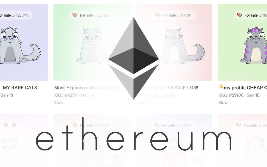 CryptoKitties : des chatons blockchain 100% virtuels s'y vendent déjà plus de 100.000 dollars !