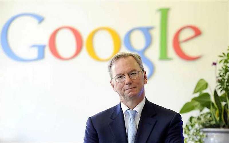 eric schmidt quitte google