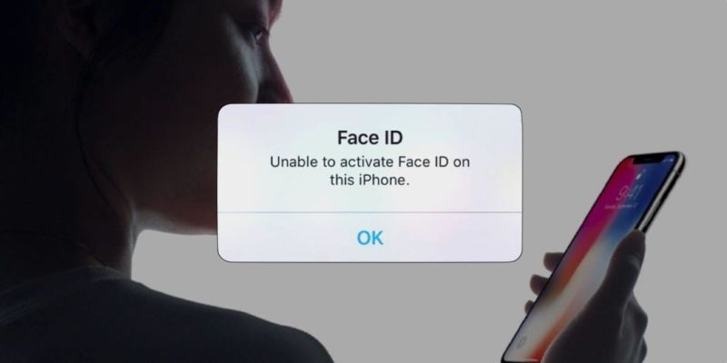 face id panne iphone x apple