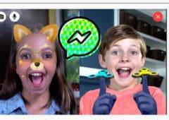 facebook messenger enfants