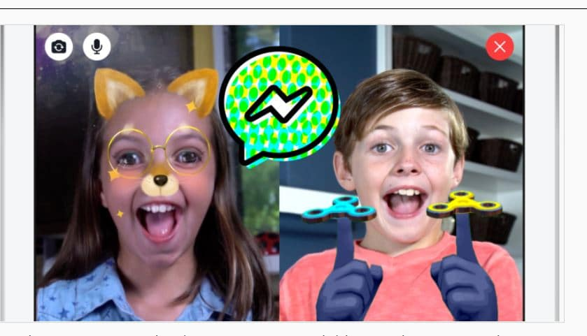 facebook messenger enfants
