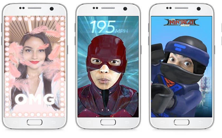 Facebook copie Snapchat et introduit de nouveaux effets de réalité augmentée — Messenger