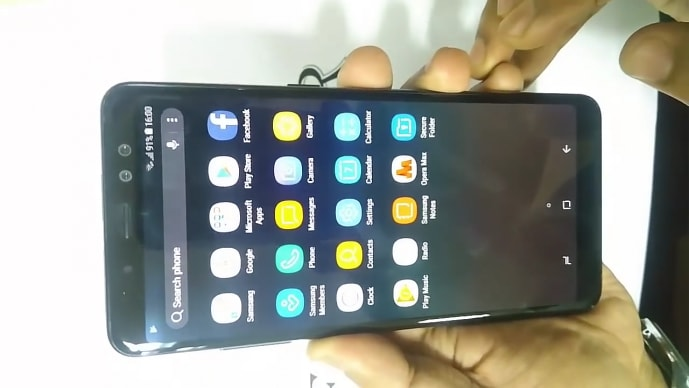 samsung galaxy A8 plus prise en main notice galaxy A5 A7 2018