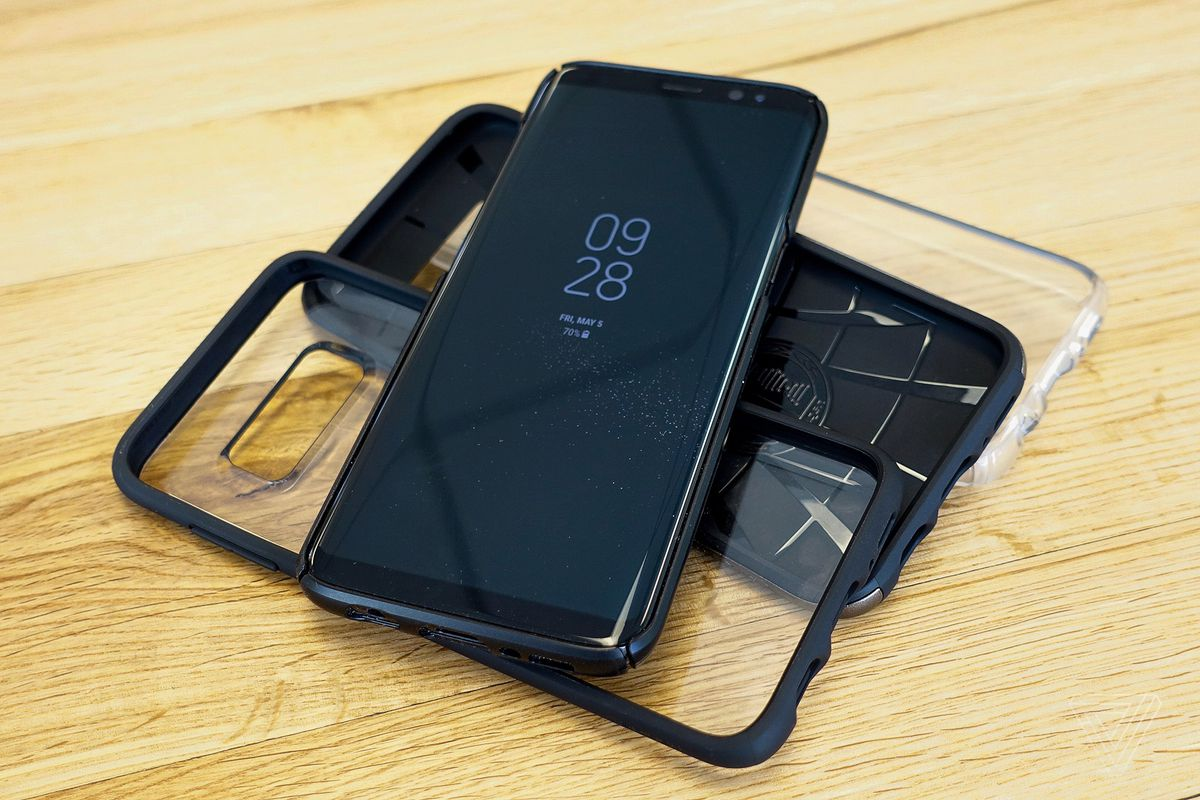galaxy S8 coques protection