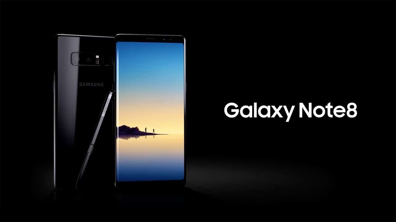 galaxy note 8 oreo