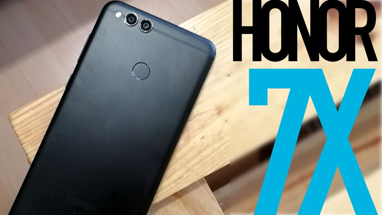 honor 7x test video