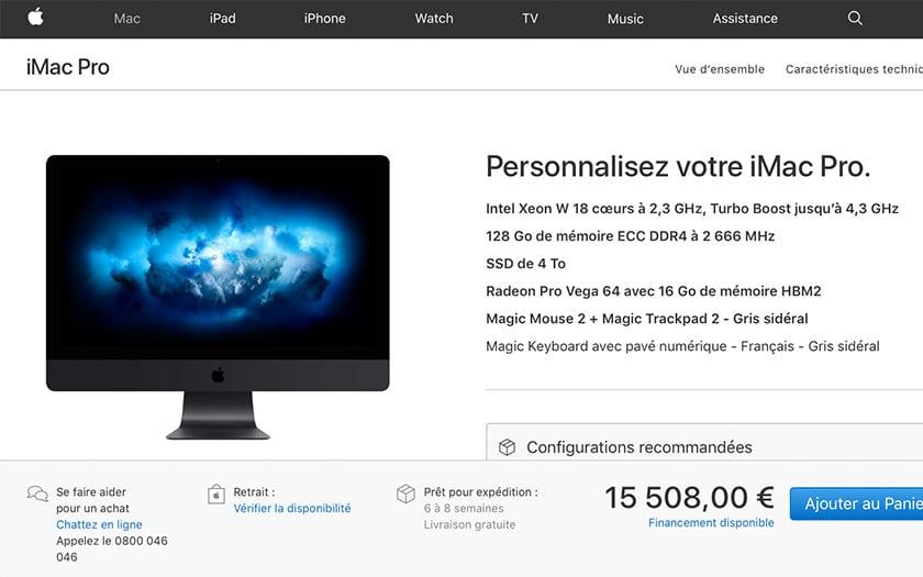 Le monstre anti-upgrade débarque jeudi — Apple iMac Pro