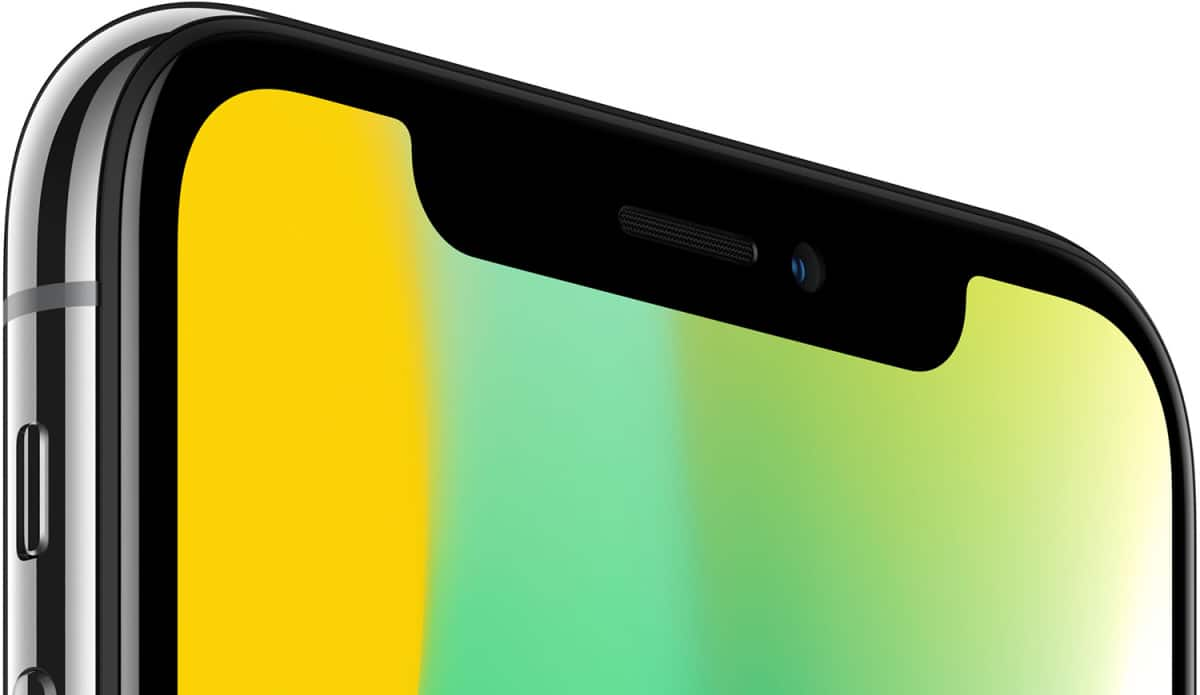 iphone x encoche argument vente