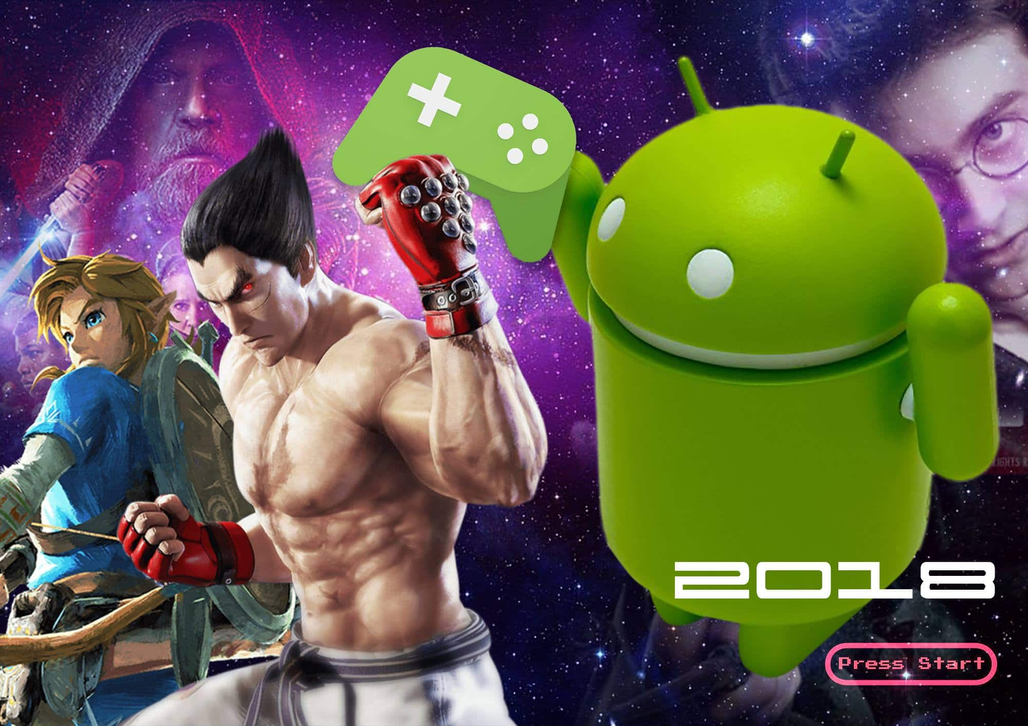 jeux video android 2018