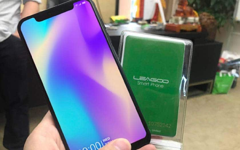 leagoo s9 iphone x clone