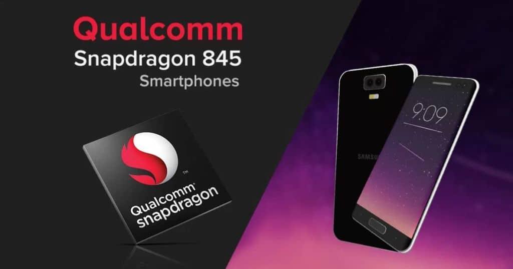 liste smartphone snapdragon 845