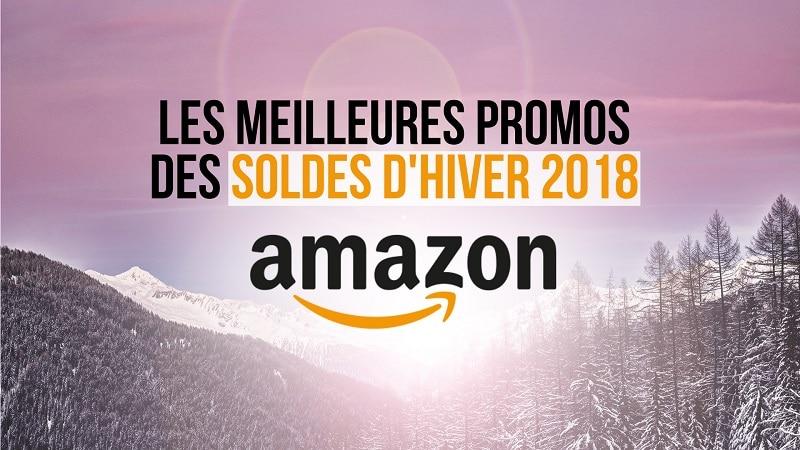 Bons plans soldes Amazon : les meilleures promos d'hiver 2018