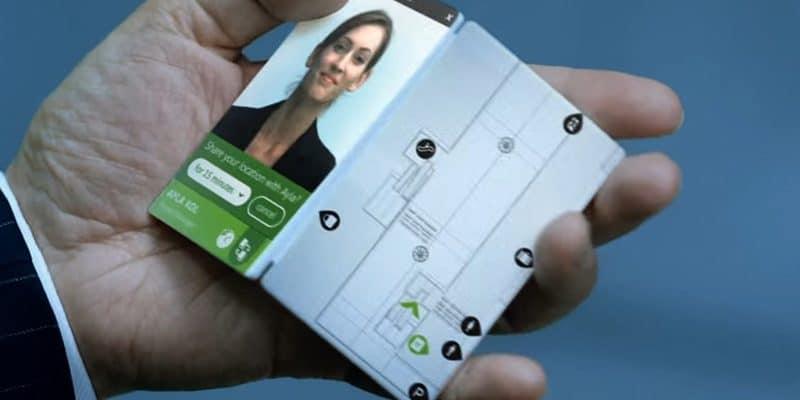 microsoft surface phone pliable brevet
