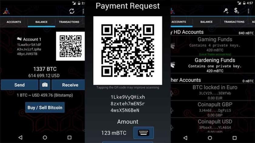 mycellium bitcoin wallet