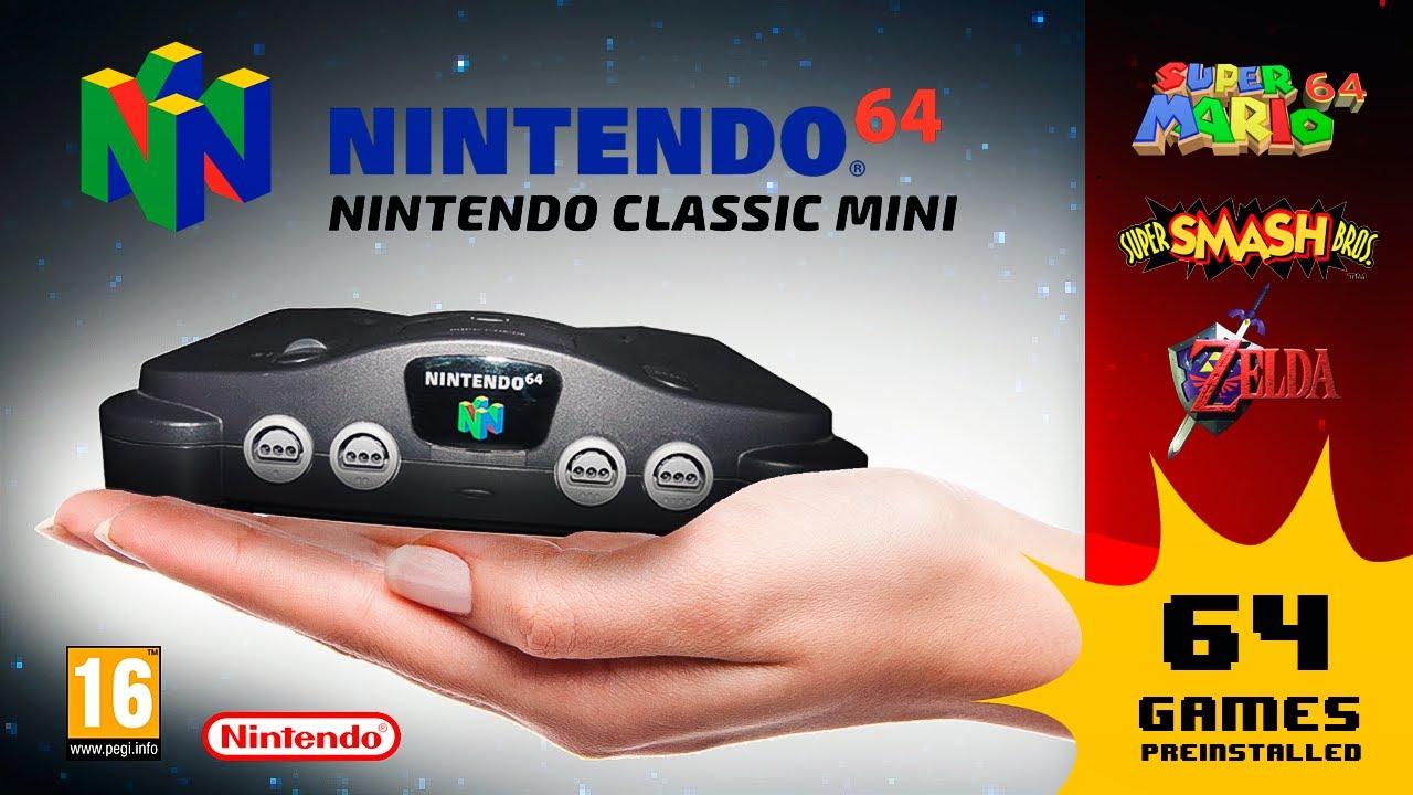nintendo 64 classic edition hyperkin N64 portable