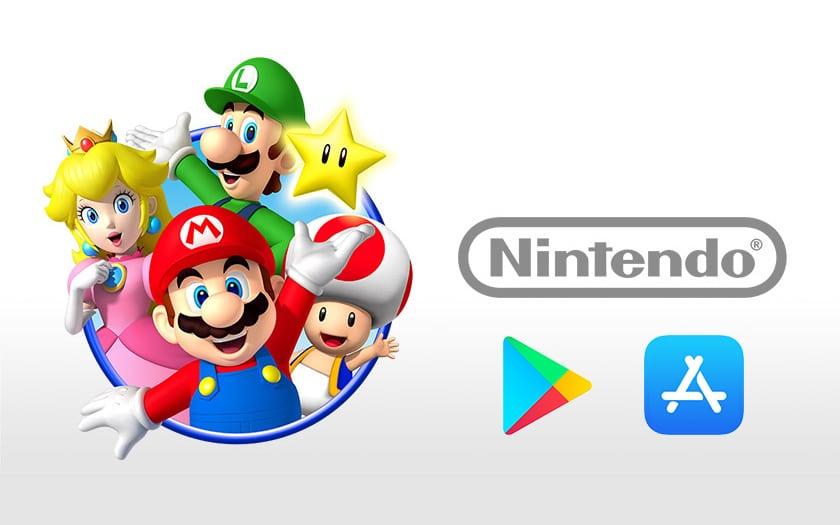 nintendo app store play store jeu mobile