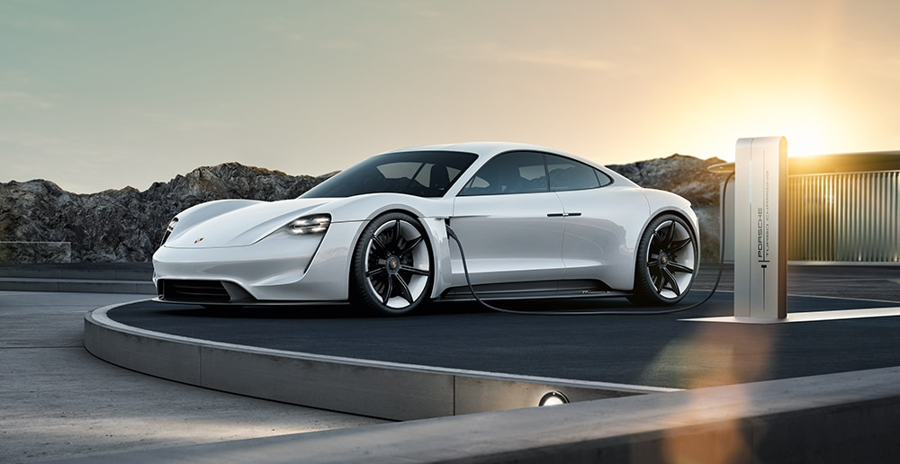 porsche BMW voitures electriques