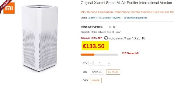 purificateur air xiaomi