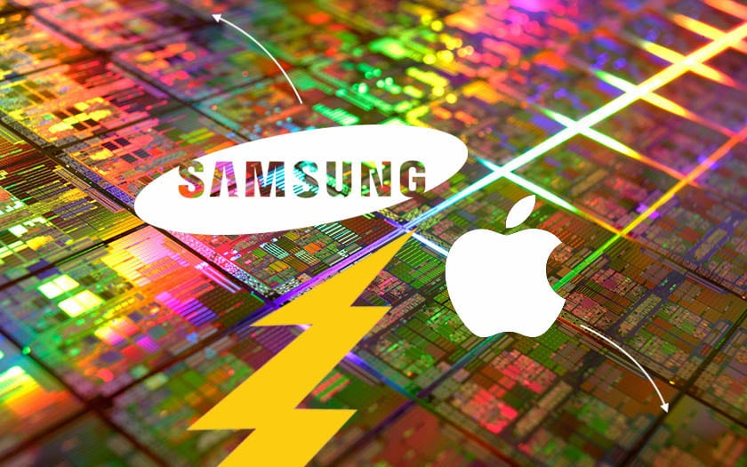 samsung apple soc gravure 7nm