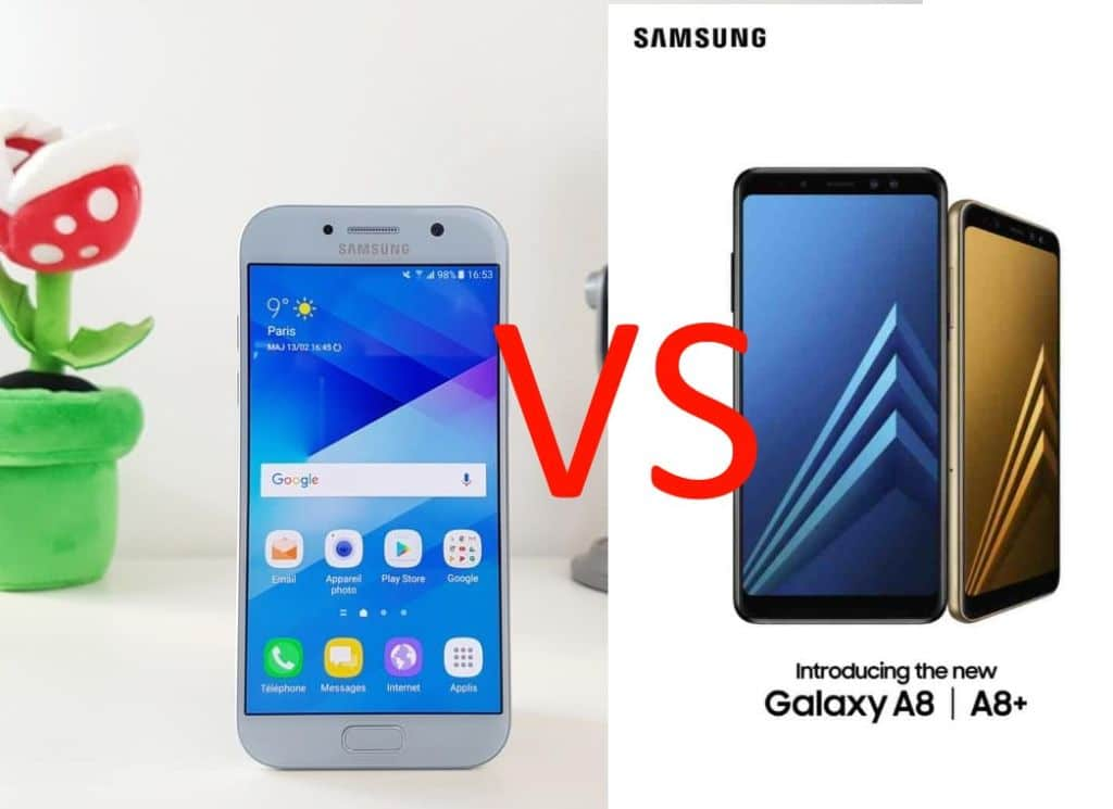samsung galaxy a5 2017 vs A8