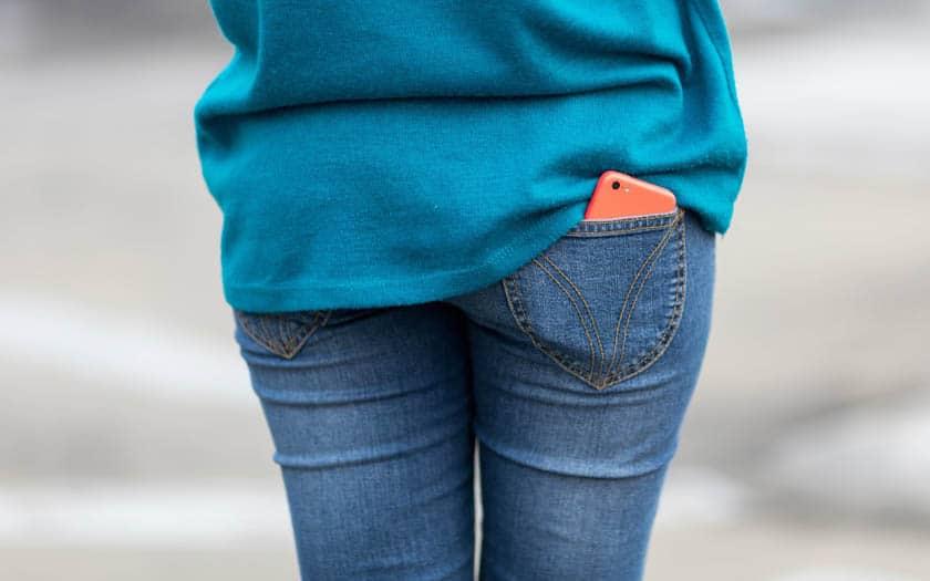 smartphone poche