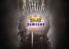 smartphones android samsung leader 2018