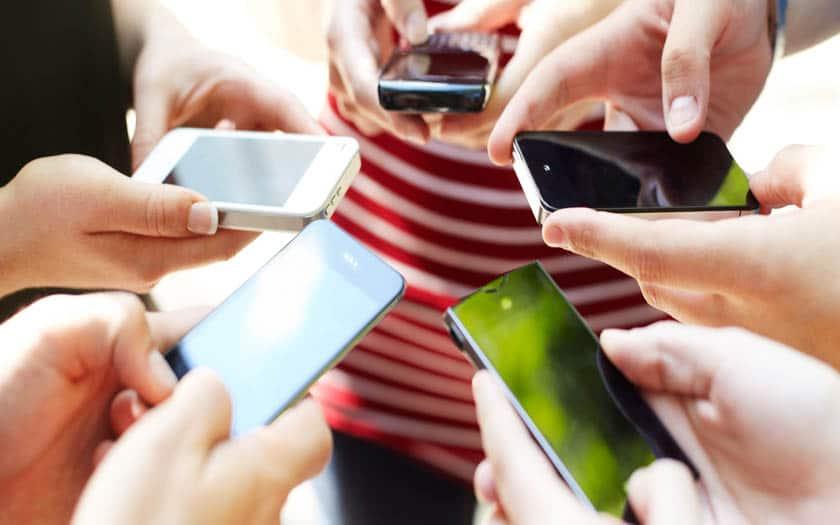 smartphones mises a jour