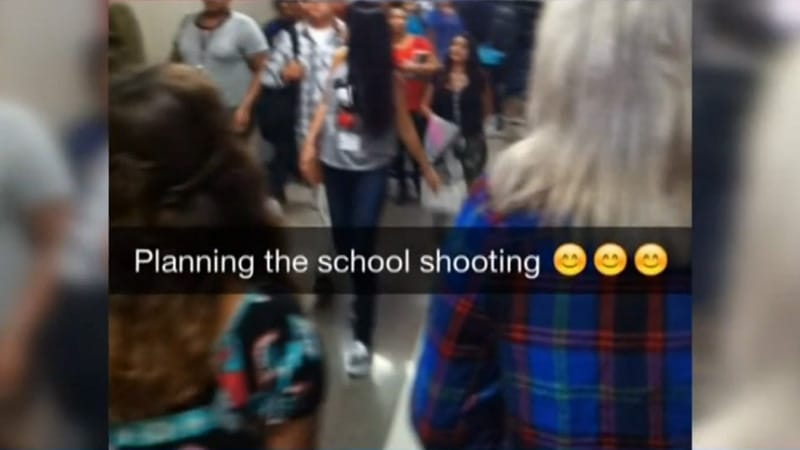 snapchat fusillade lycée