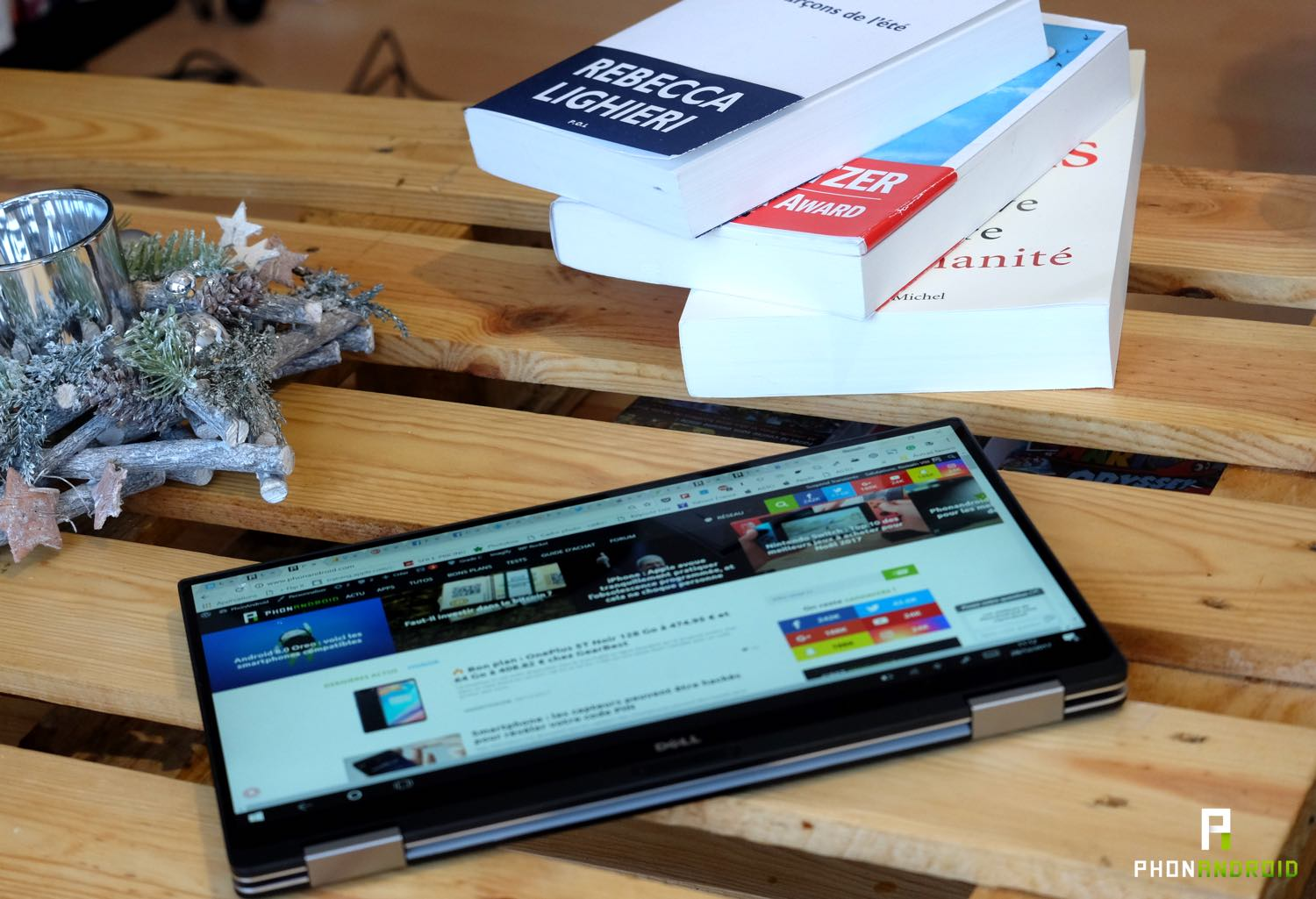 test dell xps 13 tablette
