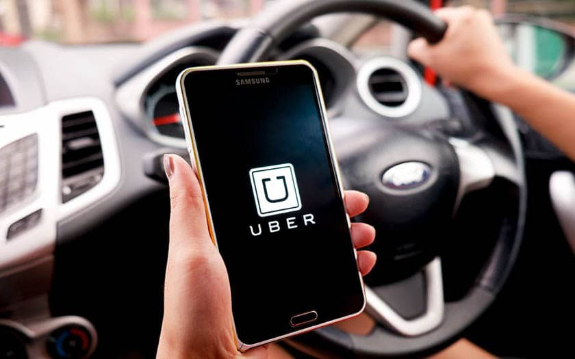 uber chauffeur
