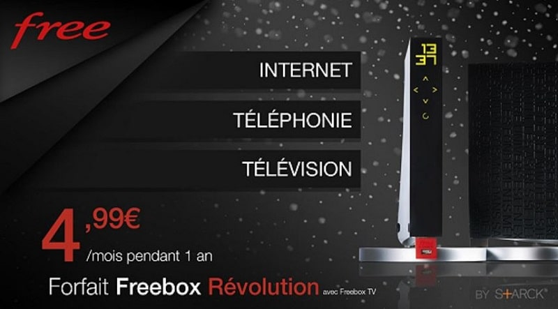 vente privee freebox revolution 5 euros par mois pendant 1 an