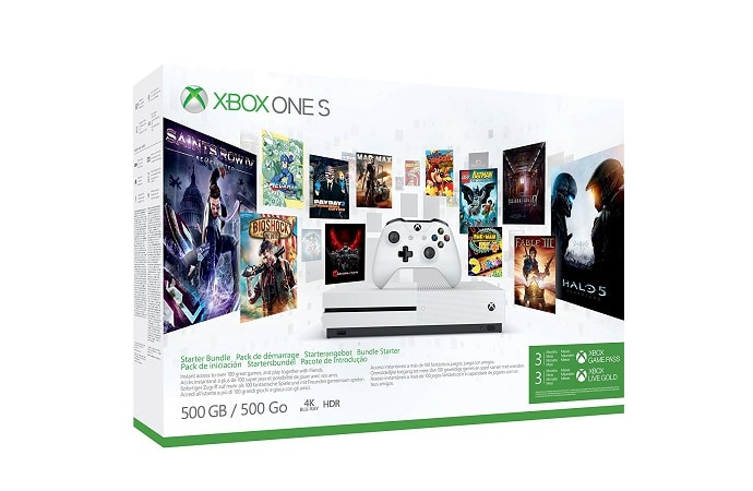 xbox one s 500 Go promo amazon allemagne