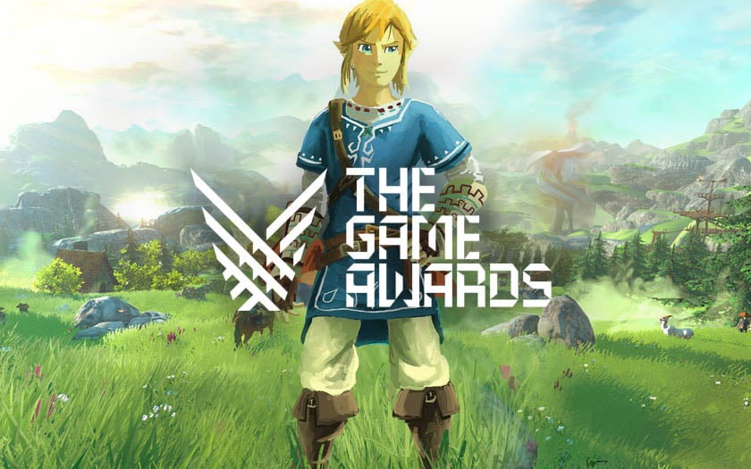 zelda breath of the wild games awards