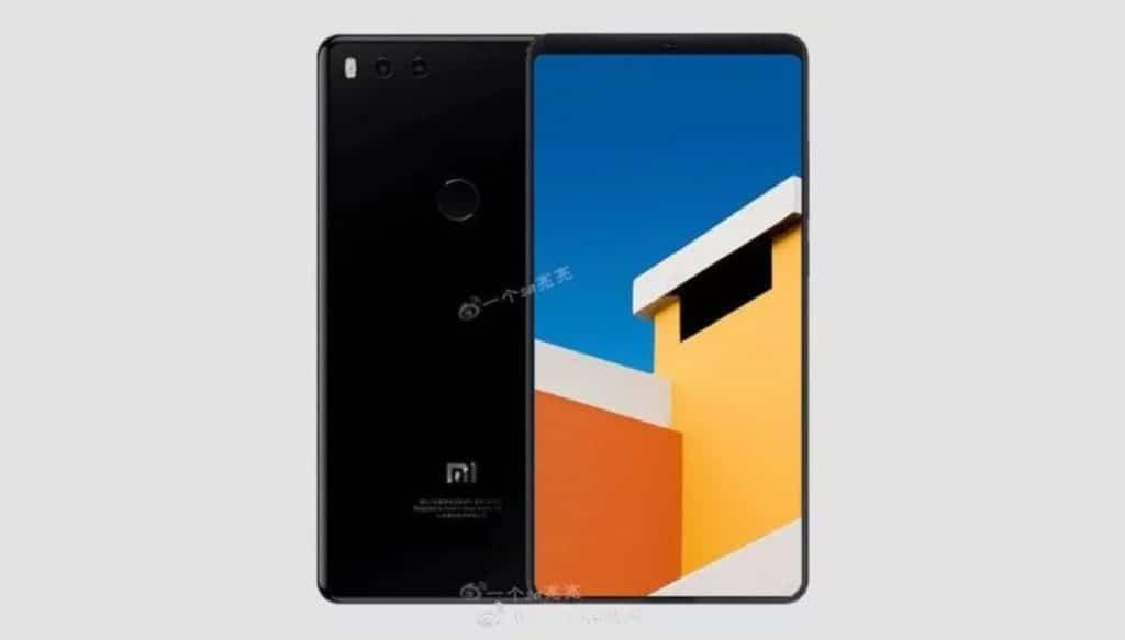 Xiaomi mi 7 rendu