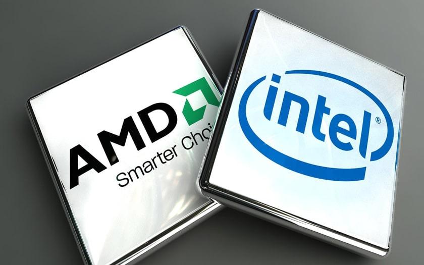 amd intel processeurs