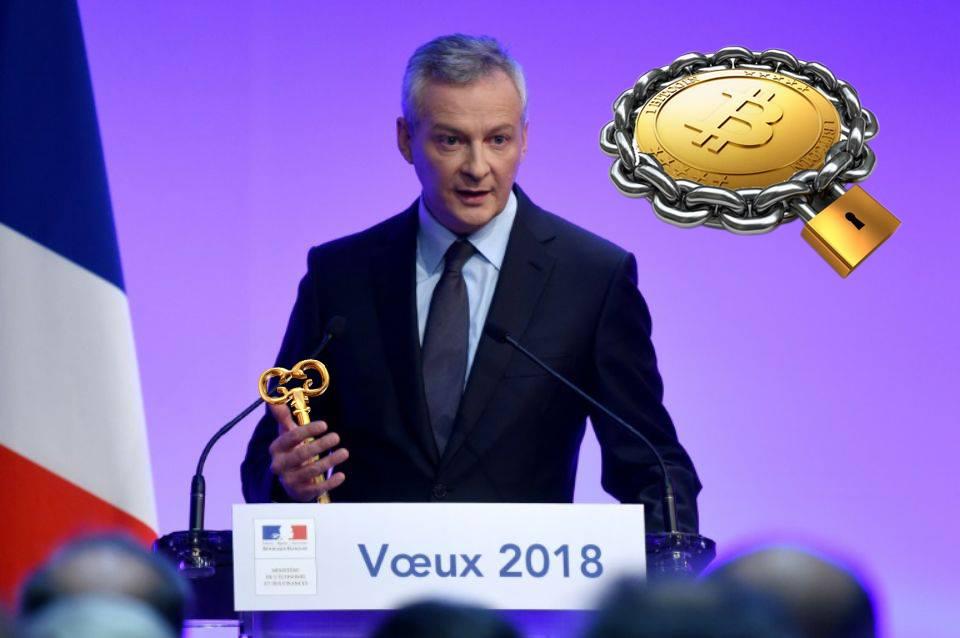 bitcoin gouvernement francais controle cryptomonnaies bruno le maire ethereum ripple
