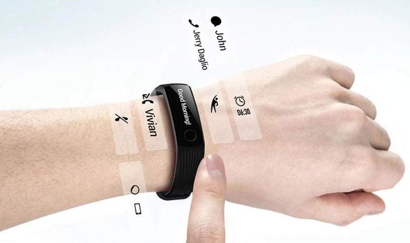 bracelet connectee huawei band 3