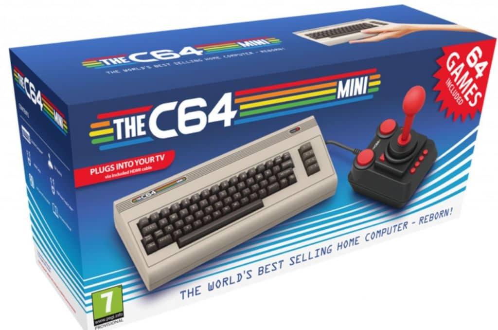 c64 mini commodore 64 sortie
