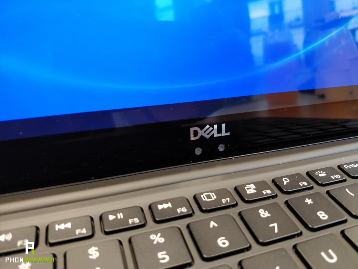 dell xps 113 argent webcam