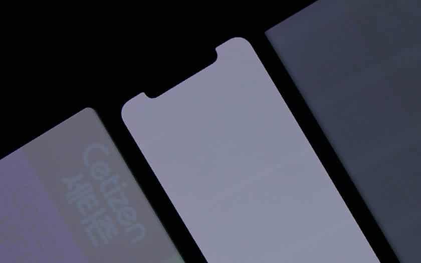 ecran oled brule burn in test iphone x