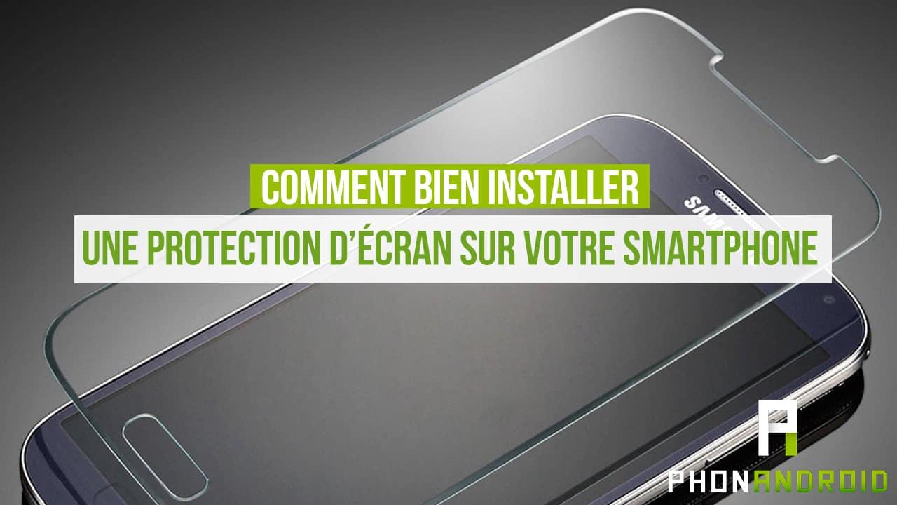 ecran protection smartphone