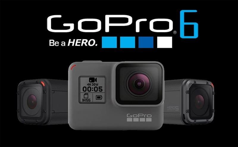 Gopro hero 6 black edition soldes hiver 2018