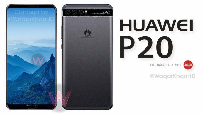 huawei p20 concept waqar khan
