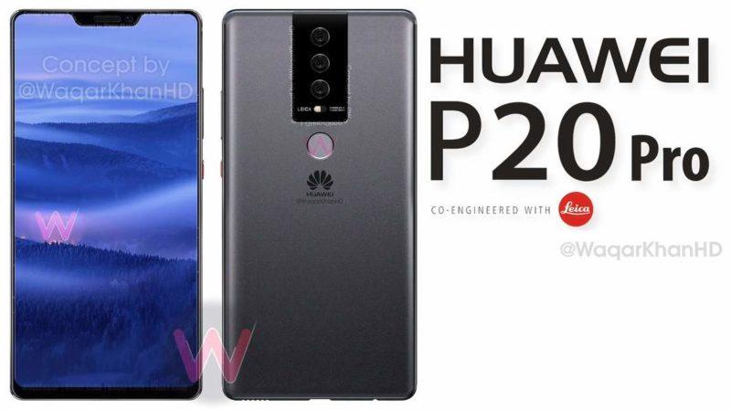 huawei p20 pro concept waqar khan