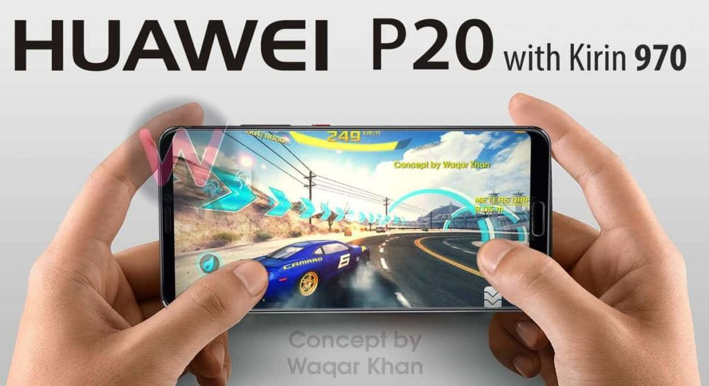 huawei p20 processeur ram