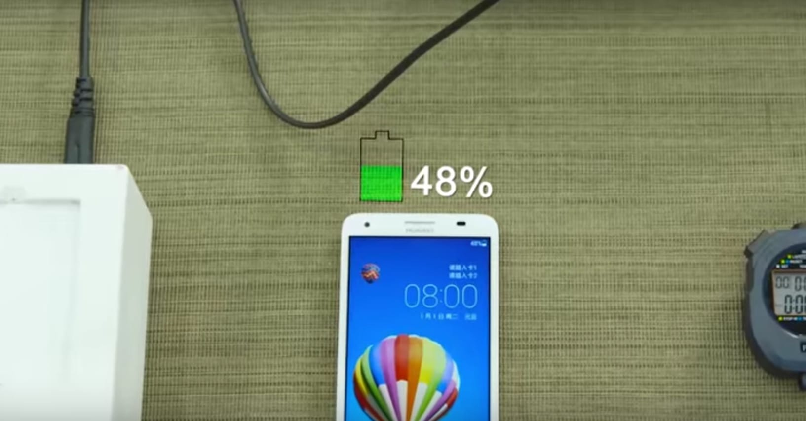 huawei recharge rapide 5 minutes